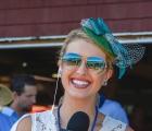 Acacia Courtney on Whitney Day at Saratoga Race Course, NY (8.4.2018)
