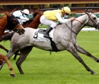 Batwan (Maxime Guyon) wins the Prix de Saint-Georges, the opening race at Longchamp, 11 05 2020