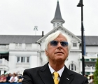 Trainer Bob Baffert at Louisville