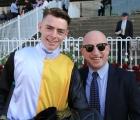 Jockey Robbie Dolan and Jim Cassidy