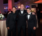 (L-R) Jose Ortiz, Chad Brown, and Irad Ortiz Jr. at the Eclipse Awards in January at Gulfstream Park, now the best winners in USA