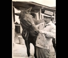 This-is-a-1938-photo-showing-Bing-Crosby-with-his-horse-Ligaroti-prior-to-the-del-mar-match-race-with-Seabiscuit Ligaroti-was-by-fogon-out-of-liri