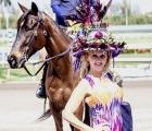 Gulfstream Park 2020: woman-in-fancy-hat