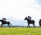 Kameko and Oisin Murphy (left) win the 2,000 Guineas, the first British Classic of 2020, UK 06 06 2020