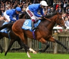 Military March, Godolphin team for the first Classic of the UK season, the G1 2,000 Guineas, at Newmarket on Saturday, 6 June.