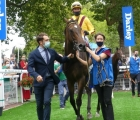 Campanelle returns to the winner's enclosure at Deauville FRA, Prix Morny 23 08 2020
