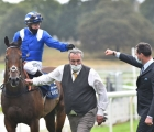 jim-crowley-and-charlie-hills-celebrate-after-winning-the-nunthorpe-with-battaash-york-eng-21-08-2020