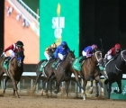 Maximum Security, ridden by Luis Saez, took the $20m (£15.5m) prize in the inaugural Saudi Cup in Riyadh, 29 02 2020