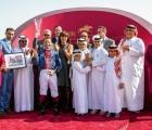 Premiazione del G3 in Qatar vinto da Luca Maniezzi-21-02-2020