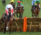 Cheltenham jamie-moore-and-goshen-clear-the-last-with-the-triumph-hurdle-seemingly-in-the-bag-1