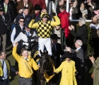 marie-donnelly-leads-in-her-dual-gold-cup-winner-al-boumphoto-cheltenham-13-03-2020