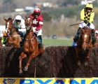 samcro-maroon-and-white-takes-the-final-fence-in-the-marsh-with-melon-with-faugheen-left-just-behind-cheltenham-12-03-2020